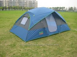 Палатка четырехместная GreenCamp 1100 гринкамп туристическая