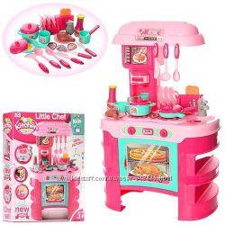 Кухня детская 008-908 А красная и розовая