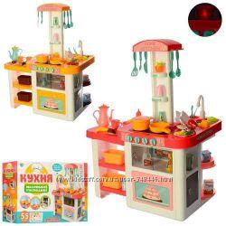 Детская игровая кухня 889-63-64 , два вида розовая и желтая