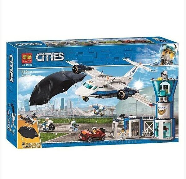Конструктор Lari City 11210 Воздушная полиция авиабаза