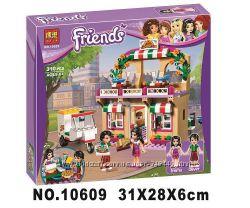 Конструктор Bela Friends 10609 Пиццерия, бела френдс