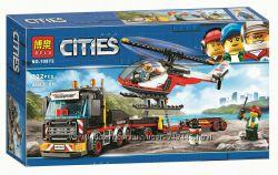 Конструктор Bela 10872 Перевозчик вертолета City