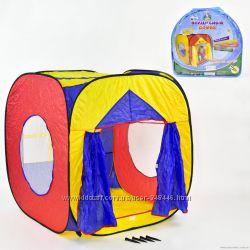 Детская игровая Палатка шатер 3516  0507 домик палатка