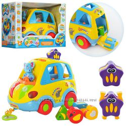 Машинка  сортер Автошка тм Joy Toy 9198