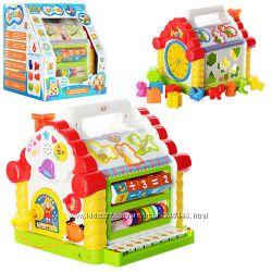 Игрушка развивающая теремок - сортер 9196 Limo Toy