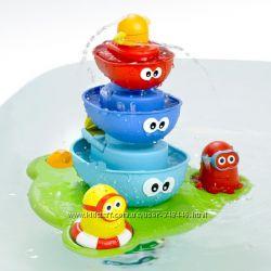 Игрушка для ванной Пирамидка - фонтан D 40115 водопад