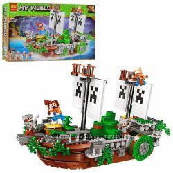 Конструктор Bela 11139 Майнкрафт Minecraft Битва на реке