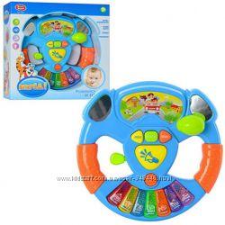 Музыкальный руль с пианино Play Smart 7526