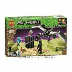 Конструктор Bela 11169 Minecraft Последняя битва майнкрафт