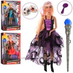 Кукла Defa 8395 шарнирная, волшебная палочка, маски