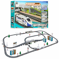 Детская железная дорога 2181 поезд паровоз . звук свет
