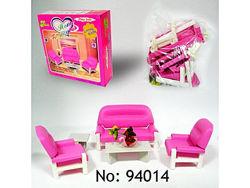 Мебель для кукол типа Барби 94014 gloria гостиная , глория