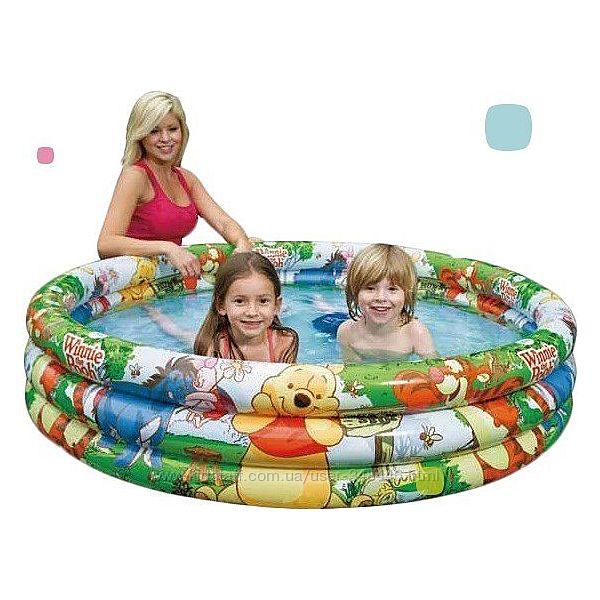 Детский надувной бассейн Intex 58915 NP винни пух дисней