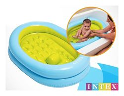 Детский бассейн Ванночка для младенца Intex 48421