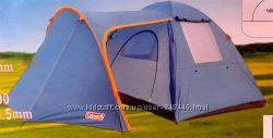 Туристическая палатка 4-х местная Coleman 1036 и 1009 с тамбуром