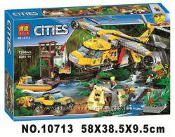 Конструктор Bela 10713 City Вертолёт для доставки грузов в джунгли
