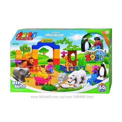 Конструктор зоопарк 5090, 5285, 5286, 5288 Jdlt