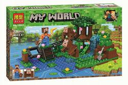 Конструктор Bela 10960 , 10961 , 10962 , 10963 Minecraft майнкрафт