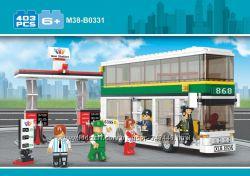 Конструктор M38-B0331 Автобус, Sluban. слубан