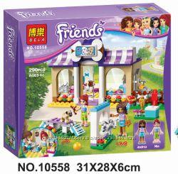 Конструктор Bela Friends 10558 детский сад для щенков, френдс