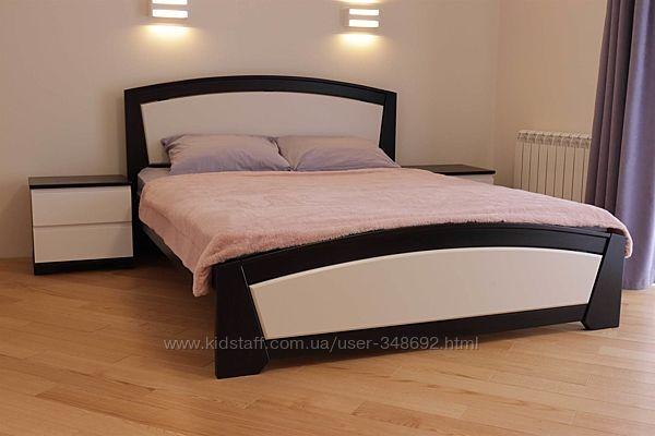 Кровать двухспальная, дерево масив