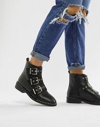 Шикарные кожаные ботинки Asos