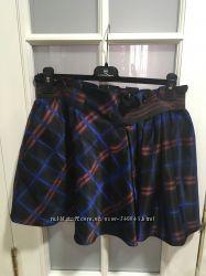 Стильная юбка в клетку Kenzo оригинал