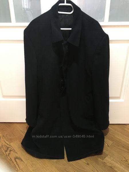 Мужское пальто Италия кашемир и шерсть