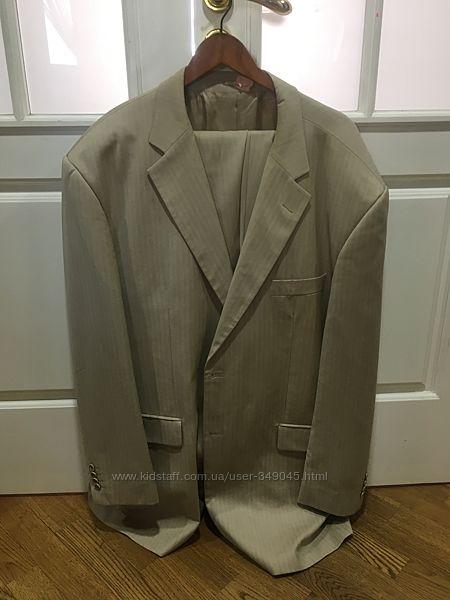 Шикарный мужской костюм Италия Милан шерсть