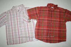 Фирменные рубашки  GEORGE и TIMBERLAND
