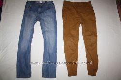 Фирменные джинсы и джоггеры отличное состояние