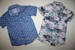 Рубашки GEORGE и REBEL состояние новых