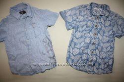 Фирменные рубашки H&M и Matalan в идеале