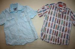 Рубашки NEXT хлопок и лён в идеале