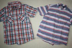 Фирменные рубашки NEXT и H&M отличное состояние