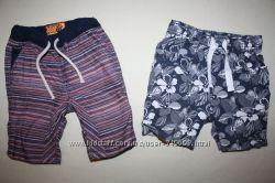 Зауженные моднячие шорты NEXT без нюансов 2-3 года