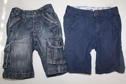Фирменные шорты DENIM и Matalan