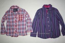 Стильнячие рубашки NEXT отличное состояние