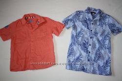 Фирменные рубашки лён хлопок без нюансов