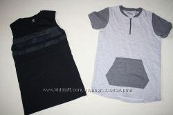 Фирменные футболки Tu и H&M в идеале