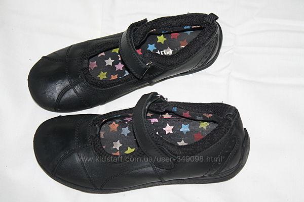 Кожаные туфли Hush Puppies отличное состояние