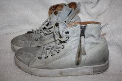 Кеды-ботинки Blackstone кожа