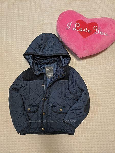 Куртка cool club,122р для хлопчика