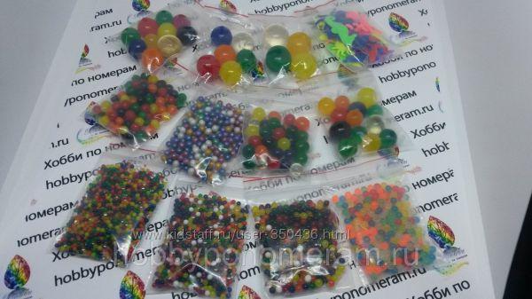 Набора шариков Орбиз 6 и 12 видов