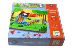 Мозаика от Djeco и Goula для самых маленьких, легко, весело, полезно