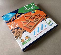 Обучающие игры из серии Eduludo Djeco. Batonnetts, Spacio, Animomix, Formes
