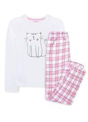 Пижамы для девочек трикотаж фланель Primark Англия.