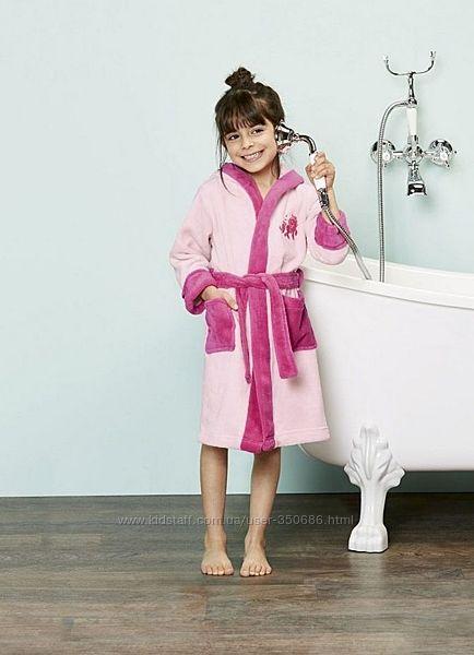 Большой выбор теплых халатов для девочек George, Lupily, YD Primark Англия.