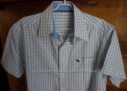 Рубашка  с коротким рукавом С&А Кунда Германия. 134 см - 140 см