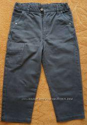 Джинсы-бриджи 78 темно-серые. 8-9 лет. Германия. 127-131 см